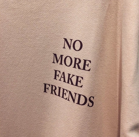 """No More Fake Friends"" Tee"