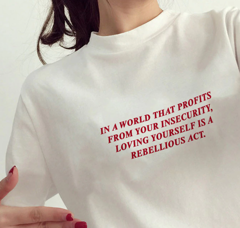 """Loving Yourself"" Tee"