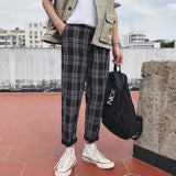 Relaxed Plaid Pants