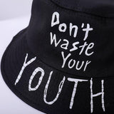 Don't Waste Your Youth Bucket Hat