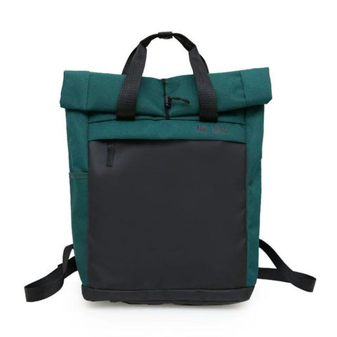 Happy Camper Roll-Top Backpack