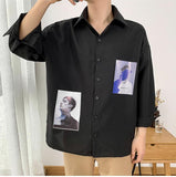 Portraits of Men Collared Shirt