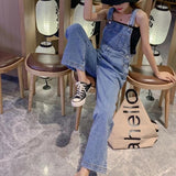 90's Basic Denim Overall