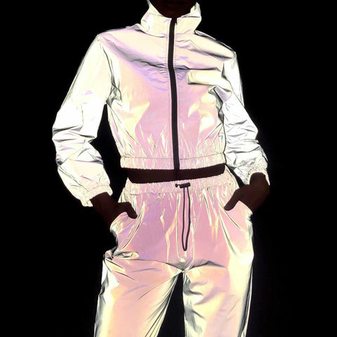 3M Reflective 2 Piece Tracksuit Set