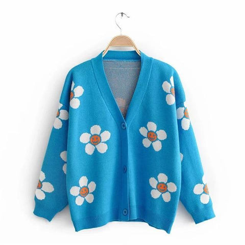 Flower Power Cardigan
