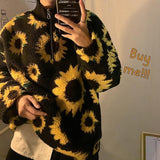 Sunflower Fleece Pullover