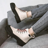 Elevated Canvas Boots