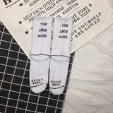 Assorted White Market Socks