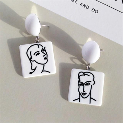 Matisse Art Earrings