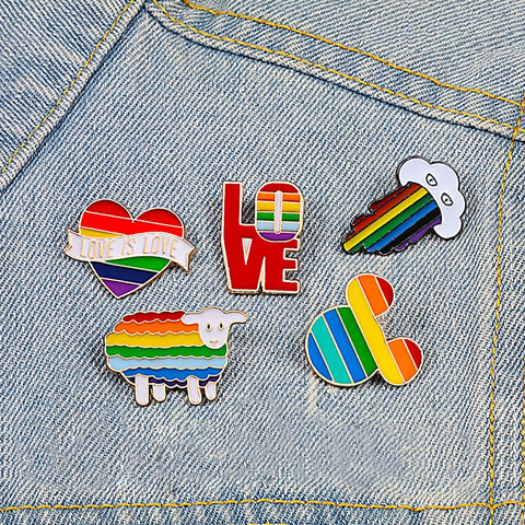 Assorted Rainbow Pins