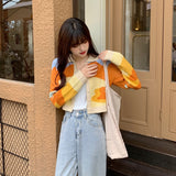 Sunset Knit Cardigan Sweater
