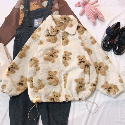 Teddy Bear Sherpa Jacket
