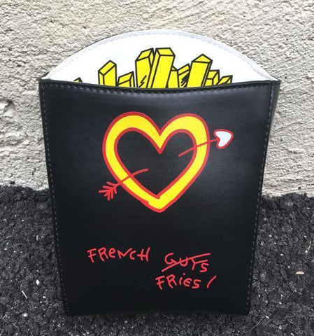 French Fries Not Guys Crossbody Bag