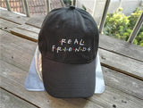 """Real Friends"" Baseball Cap"