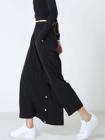Asymmetrical Wide Leg Trouser Dress