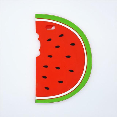 Silicone Watermelon iPhone Case
