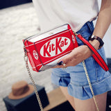"""Kit Kat"" Mini Shoulder Bag"
