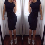 Bae Short Sleeve Dress