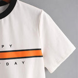 """Happy Everyday"" Cropped Shirt"