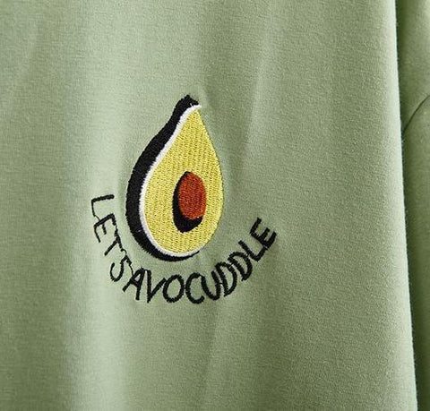 """Let's Avocuddle"" Tee"