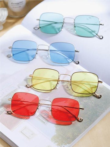 Vintage Square Tinted Shades