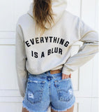 """Everything is a Blur"" Hoodie"