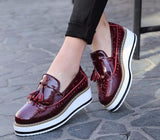 Platform Oxford Loafers