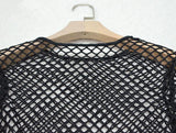 Mesh Two Piece Fishnet Bodysuit