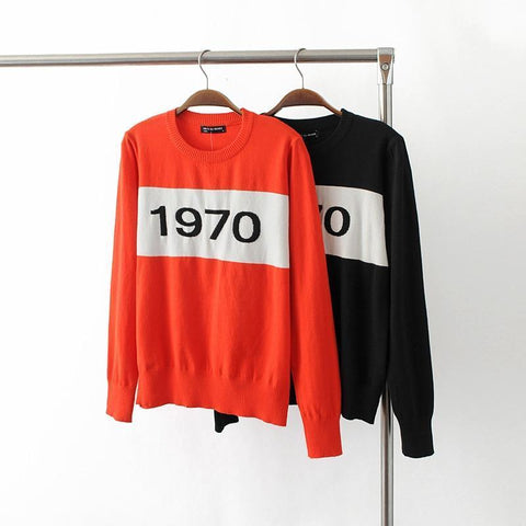 """1970"" Knitted Sweater"