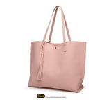 Basic Everyday Faux Leather Tote