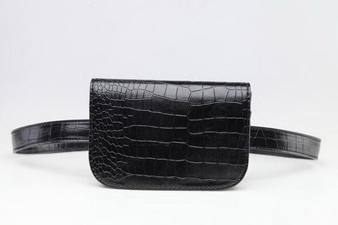 Crocodile Basic Belt Bag