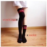Striped Socks Or Stockings