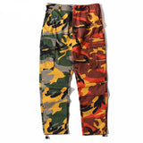 Two-Tone Colored Camo Pants