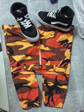 Colored Camo Pants