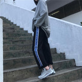 Russian Youth Striped Joggers