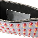 Pill Capsule Messenger Or Clutch Bag