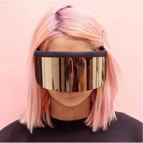 Reflective Visor Sunglasses