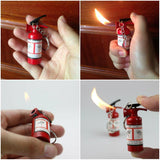 Mini Fire Extinguisher Refillable Lighter