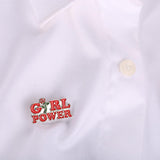 """Girl Power"" Pins"