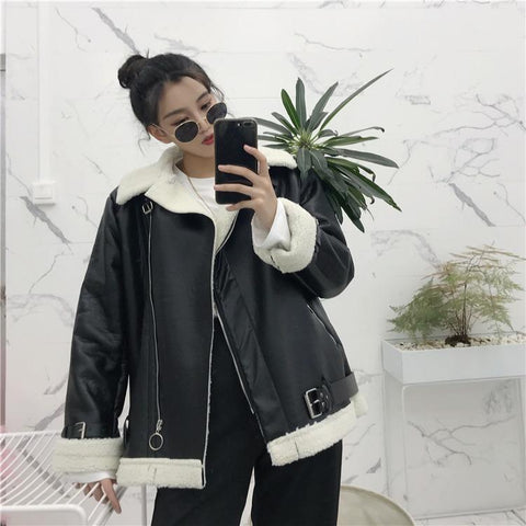 Wool Lined Leather Jacket