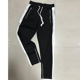 Structured Striped Sweatpants