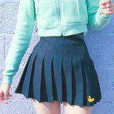 Rubber Ducky Embroidered Skirt