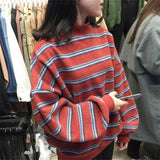 Oversized Wool Striped Sweater