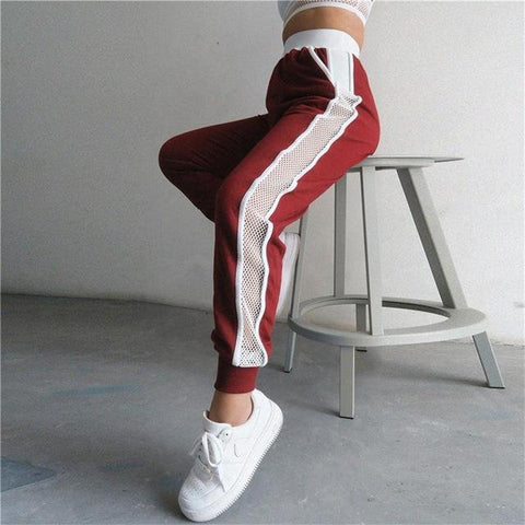 Side Meshed Sport Trousers