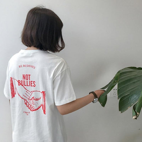 """Be Buddies Not Bullies"" Tee"