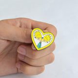 """Hey Arnold"" Lover Pin"
