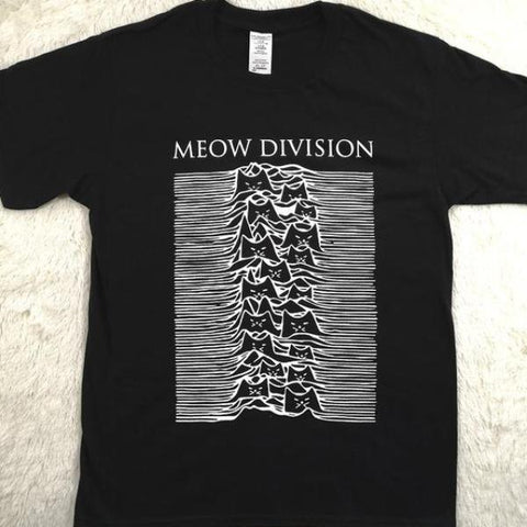 """Meow Division"" Tee"