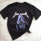 """Girl Power"" Metallica Tee"
