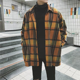 Vintage Oversized Plaid Shirt