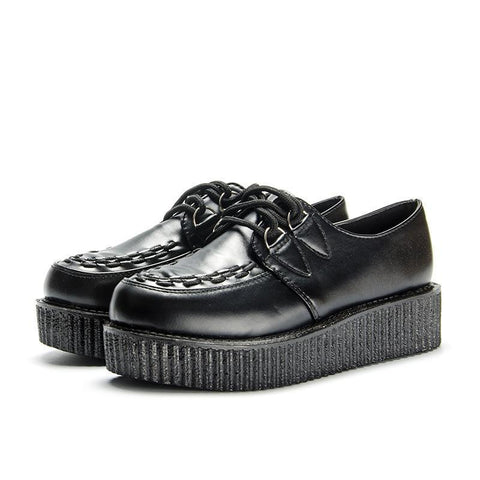 Vegan Leather Classic Platform Creepers